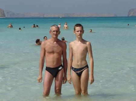 Средиземноморский пляж, Греция, о.Крит