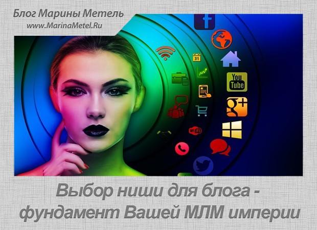 Выбор Ниши Для Блога - Фундамент Вашей МЛМ Империи